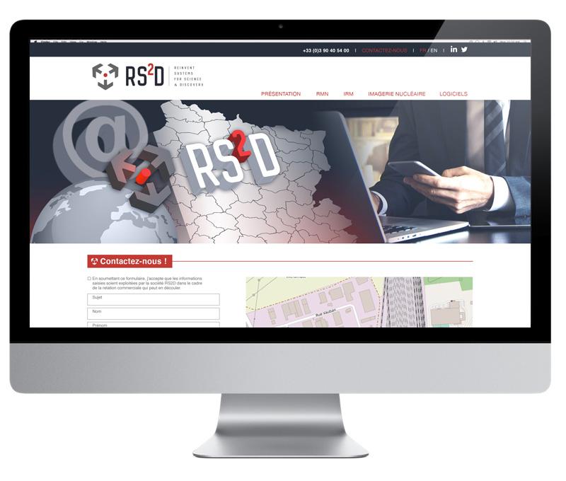 Site internet RS2D
